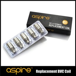 Wholesale Aspire Original replacement coil for Aspire BDC BVC Atomizer bottom dual coil replacement coil CE5 ET maxi atomizer Free ship HOT