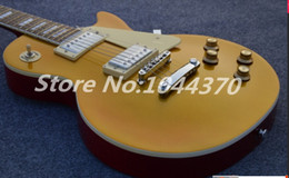 Wholesale new hot sell top Quality gold Yellow SlASh paul electric guitar in sunburst
