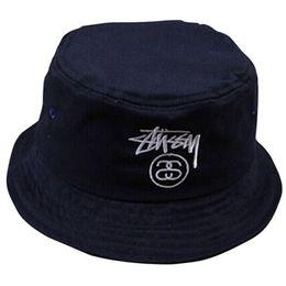 2017 sombreros de camuflaje Al por mayor-2015 de verano Moda Marca lana sombrero del cubo dom Rayado HipHop Pescador Cap camuflaje descuento sombreros de camuflaje