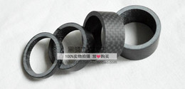 Wholesale bicycle headset spacer quot Full Carbon Fibre k Matte Spacer Headset Fork Washer mm mm mm mm