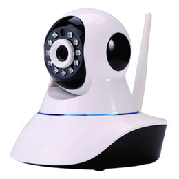 Wholesale HD Network IP camera Burglar Alarm Household for Toys Store HD Pan Tilt WIFI Alarm System Mini Security CCTV home Alarm With Phone Operate
