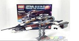 Wholesale New GUdi bricks star wars The phantom X fighter building blocks bricks toys children gift