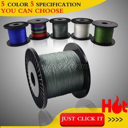 Wholesale 500M Super Strong PE Braided Dyneema Strands Spectra Braid Fishing Line LB LB LB LB LB Capacity FISH