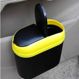 Wholesale Manufacturers selling double environmental protection garbage box car door hanging clamshell trash mixed batch