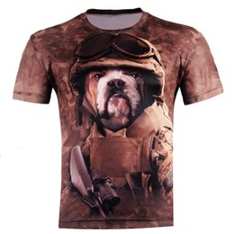 Wholesale w1211 Come and buy Dog Soldiers Fashion D T shirts Punk D Short Sleeve Tee Shirt S XL High quality Style Men s T Shirts Tops