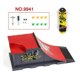 New Style Skate Park Ramp Parts for Fingerboard Finger Board Ultimate Parks, ABS Plastic Skateboard Brinquedos Free Shipping