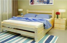 Solid Wood Pine single Bed children's Bed 1 m 1.2 m 1.5 m 1.8 m children's furniture Bunk Bed