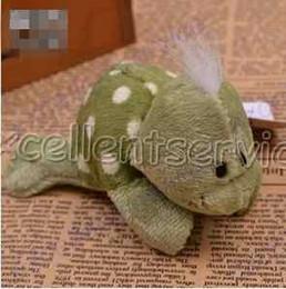 Wholesale Green Tortoise Fridge Magnet Fridge Magnet Stuffed animal soft toy for wedding best gifts