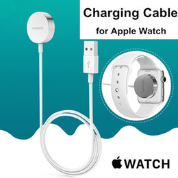 Wholesale Free DHL Apple Watch Magnetic Charging Cable m Length Magnetic Wireless Charger Dock for iWatch Apple Watch