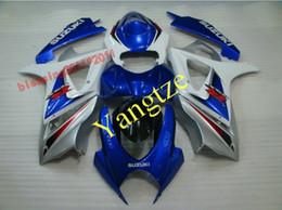 ABS PLASTIC FAIRING KIT for GSXR 1000 07-08 GSXR 1000 2007 2008 07 08 GSXR1000 GSXR1000 2007 2008 BLUE
