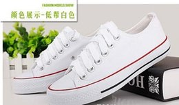 Free Shipping Fashion Unisex Women Men Sneakers Lace Up High Low Style Classic Casual Canvas Shoes