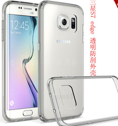 Wholesale For Samsung galaxy S7 plus edge G9350 ultra thin invisible tpu pC acrylic crystal shell sets protective sleeve Cell Phone Cases