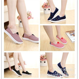 Wholesale 2016 Top Fashion Women Red Blue Spring And Fall Us10 Old Beijing Shoes Womens Sports New Students Kevin Thomas Casual Manufacturers Selling