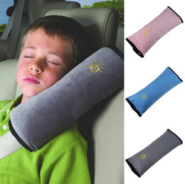 Wholesale Child Seat Harness Cover - Baby Children Car Auto Safety Seat Belt Soft Harness Shoulder Pad Cover Children Protection Covers Cushion Support Pillow Seat Cushions