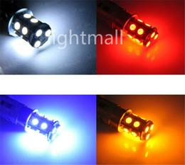 Wholesale High Quality BA15S p21w BAY15D p21 w bay15d PY21W led light bulb smd Brake Tail Turn Signal Light Bulb Lamp V red