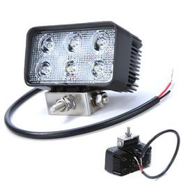 Freeshipping18W LED Work Light Offroad Flood Stop Driving Light For 4X4 Truck Tractor SUV ATV Car LED LED Fog Headlight for 12V