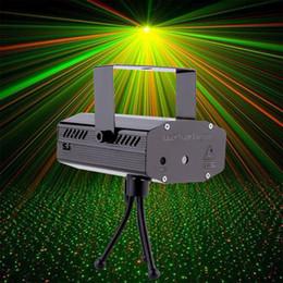 Mini Projector R&G DJ Disco Light Stage Xmas Party Laser Lighting Show DJ-BK US PLUG Brand New