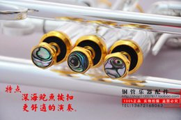Wholesale Bach Trumpet S little drops the little instrument surface silver inventory of brass instruments Bb trumpet