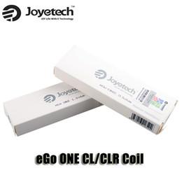 100% Original Joyetech eGo ONE CL Coil CLR Coil 0.5 1.0ohm Atomizer Head for Ego One Mini Mega Starter Kits