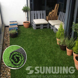 Wholesale 12 Rolls cm Lawn Artificial Grass Landscape Turf Synthetic Lawn Grass Non toxic High Density SGS High Quality B