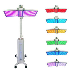 Wholesale pdt skin machine pdt led light therapy lamp for facial care pdt LED machine led pdt facial beauty machine big pdt let light skin smoothly