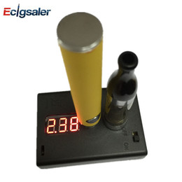 Wholesale Resistance Tester OHM for E Cigarette eGo Thread Atomizer Resistance Tester ohm meter Clearomizer ohm meter Checker Tester Reader