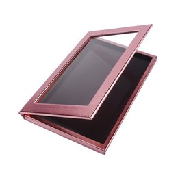 Wholesale-Customizable Magnetic Makeup Palette Eye Shadow Box DIY Cosmetic Organizer MAkeup Tool Rose Golden