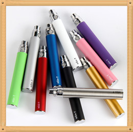 EGO Battery for Electronic Cigarette E-cig Ego-T 510 Thread match CE4 atomizer CE5 clearomizer CE6 650mah 900mah 1100mah 9 Colors DHL Free