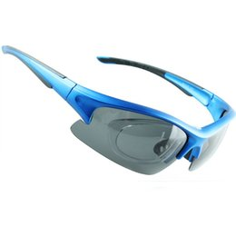 Men Women Cycling Glasses UV400 Outdoor Sports Eyewear Mountain Bike Bicycle Fishing Golf Goggles Sunglasses with 5Lens 5Color