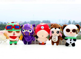 Wholesale 30 cm League of Legends plush toy doll blind monk Kennan Anne anti pet Timo full set of dolls