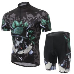 XINTOW New cycling jerseys breathable bike clothing mountian bike jersey and padded cycling jersey shorts men