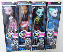 Wholesale 2015 Doll Accessories Monster High Boo York Boo York City Schemes Nefera de Nile Doll Action Figure doll Kids Doll MC