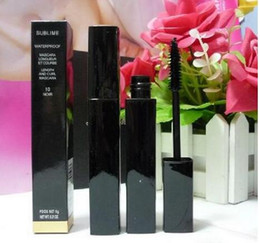 12 PCS FREE SHIPPING MAKEUP 2016 Lowest Best-Selling good sale Newest Products liquid MASCARA 6g black good quality