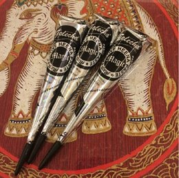 Free shipping Black sex products henna cone tattoo ink for Body Paint original from India Temporary Tattoo Art henna cream 25g