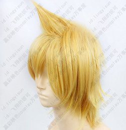 Wholesale gt gt gt Magi Labyrinth of Magic Ali Baba Saruja Short Blond Cosplay wig