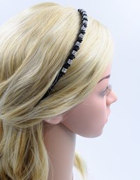 Women Crystal Headband Black with Rhinestone New Fashion High Quality Hair Accessories Hair Jewellery for Wholesale