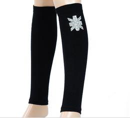 Wholesale-Rhinestone clinch leg shelf quality cotton socks antibacterial socks