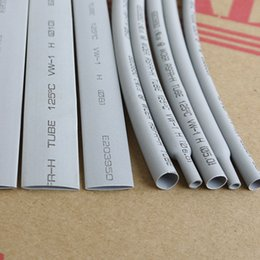 Wholesale 1 mm Gray Polyolefin Heat Shrink Tubing Size Selectable M ROHS UL