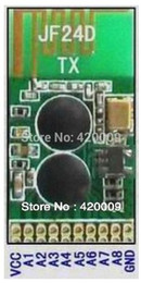 Wholesale channel GHz remote control transceiver transmitter JF24D TX and receiver JF24D RX