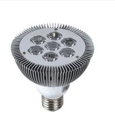 7X3W E27 LED Light Par30 LED Lamp Bulbs E27 Par 30 SpotLight Cool White|Warm White 100V-240V By Express