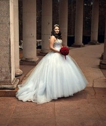 Ball Gown Wedding Dress 2015 Spaghetti Strap Back Lace Up Sweep Train Plus Size Wedding Dress Beads Appliques Ruffles Organza Bridal Dress