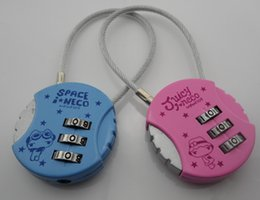 Wholesale new password padlock combination lock computer lock bags locked chest padlock couplesnew