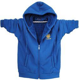 Wholesale Men s cardigan sweater hooded zip cardigan jacket plus fertilizer to increase new winter M523