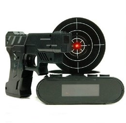 Wholesale Jerk off first then get up infrared fire alarm clock necessary gun addiction lovers creative gift household items