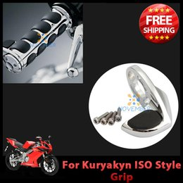 Wholesale Billet Aluminum Soft Rubber Pad Motorcycle Cruise Throttle Assist For ISO Flame Transformer Braided Grips order lt no track