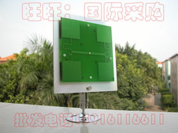 Wholesale price Ship Waterproof Aluminium dbi Gain Directional Panel Antenna kit for WiFi Router db w Stand holder
