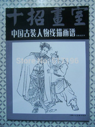 Wholesale New Chinese tattoo book Ancient Characters Soldier Beauty Generals Chinese painting book tattoo books designs