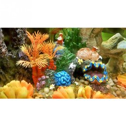 Wholesale Fantastic Aquarium Faux Artificial Coral Reef Fish Cave Tank Decoration Underwater Ornament
