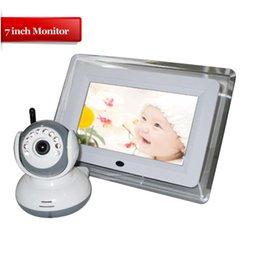 9070D Affichage 7 pouces Infant Optics 5 Digital Video BABY MONITOR, 2.4 GHz Night Vision BABY CAMERA à partir de lcd moniteur d'affichage vidéo fournisseurs