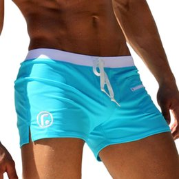 Wholesale Hot Sexy Men Swimwear Brand AQUX Men s Swimsuits Surf Board Beach Wear Man Swimming Trunks Boxer Shorts Swim Suits Gay Pouch WJ